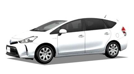 トヨタ プリウスα(新車)の詳細情報