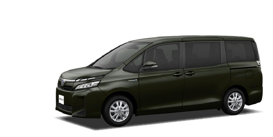 トヨタ ヴォクシーハイブリッド(新車)の詳細情報