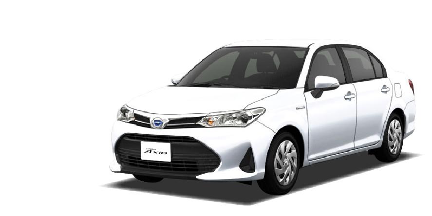 トヨタ カローラアクシオハイブリッド(新車)の詳細情報