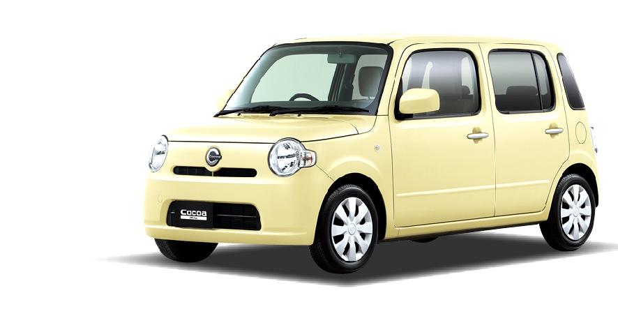 ダイハツ ミラココア(新車)の詳細情報