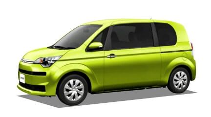 トヨタ スペイド(新車)の詳細情報